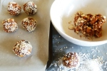 Raw Date and Almond Snack Balls