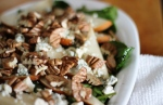 Spinach, Pecan and Pear Salad