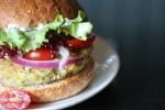 Mediterranean Chickpea Burger