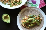 Jalapeno-Lime Chickpea Salad Wrap