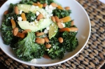 Kale Salad with Garlicky Lemon Dressing
