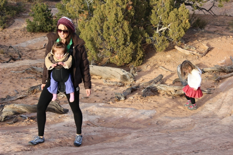 Hiking in Canyonlands NP