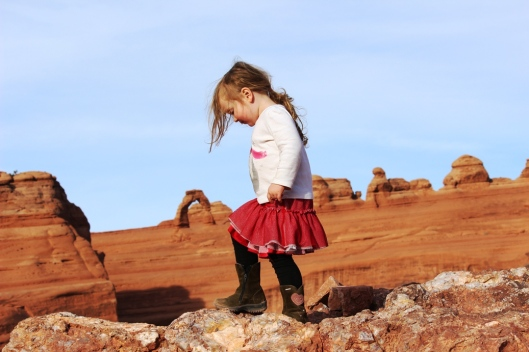 Minda with Delicate Arch