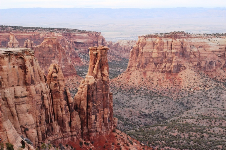 Monument Rock at Colorado National Monument