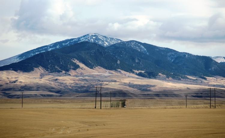 Mountain near Great Falls