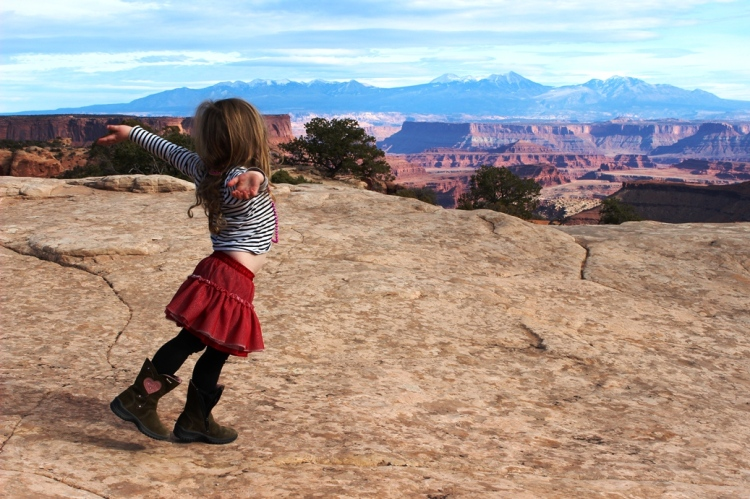 What a view at Canyonlands NP