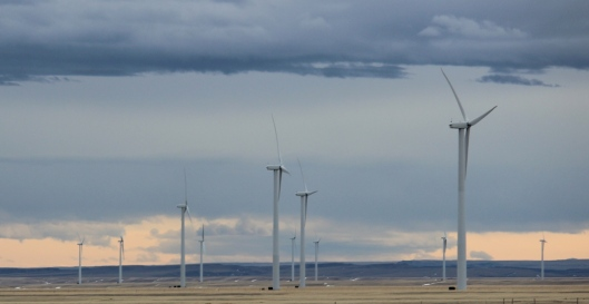 Windmills in Montana