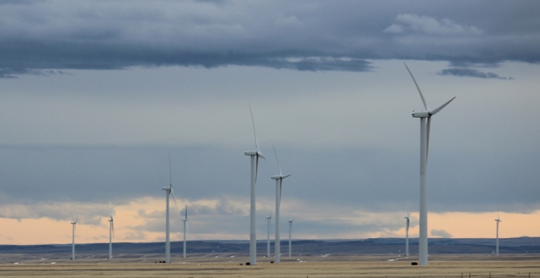 Windmills in Montana