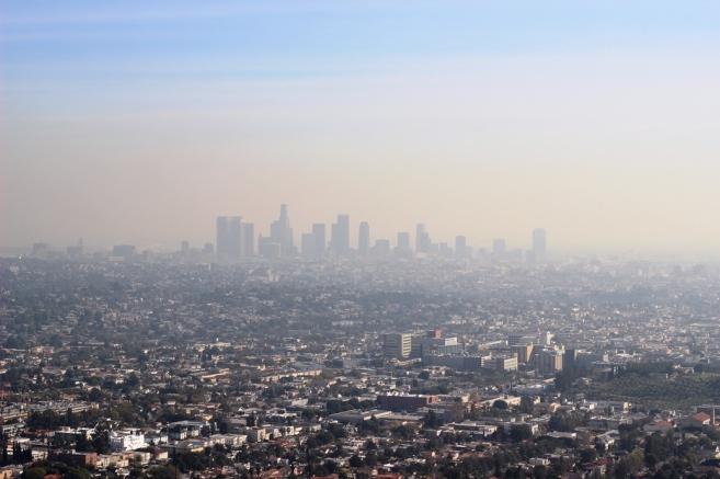 Hazy Day in LA