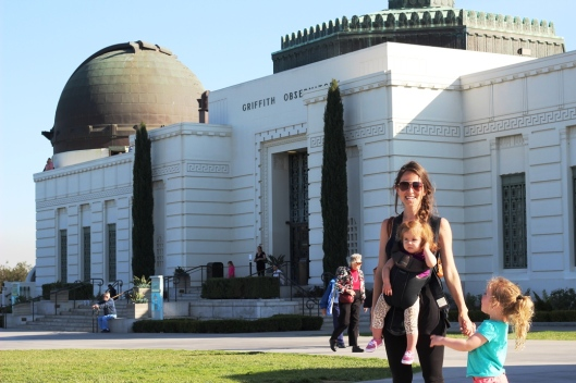 At the Griffith Observatory