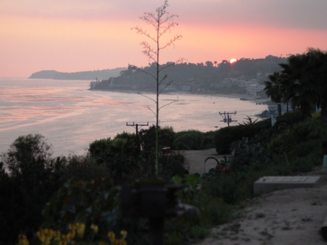 Sunset in Malibu