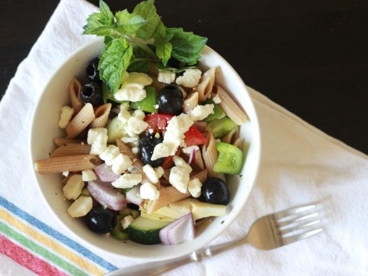 Greek Pasta Salad 030