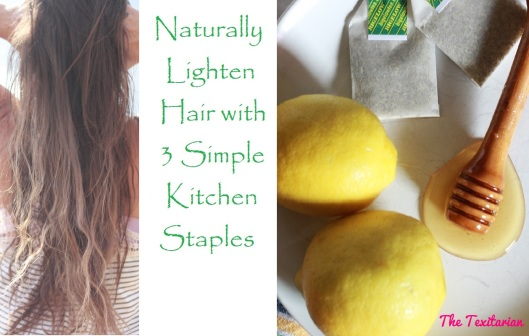 Natural Hair Lightener