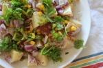 Spicy Potato and Corn Salad