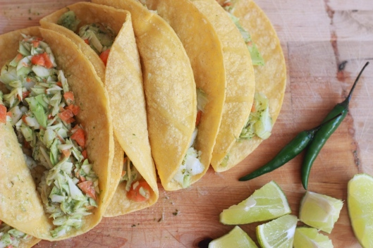 Fish Tacos with Thai Buddha Slaw