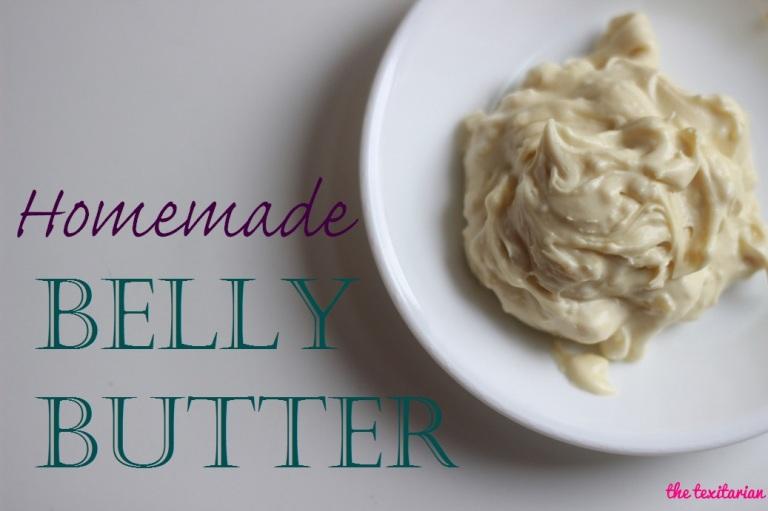 Homemade Belly Butter