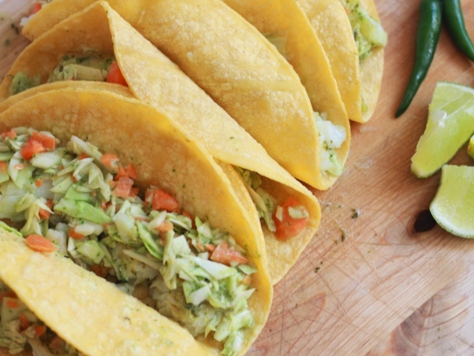 Texitarian Kitchen Fish Tacos