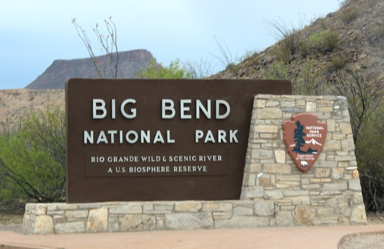 Big Bend Entrance