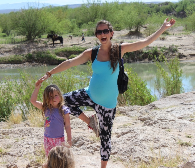 Tree Pose in Boquillas Canyon