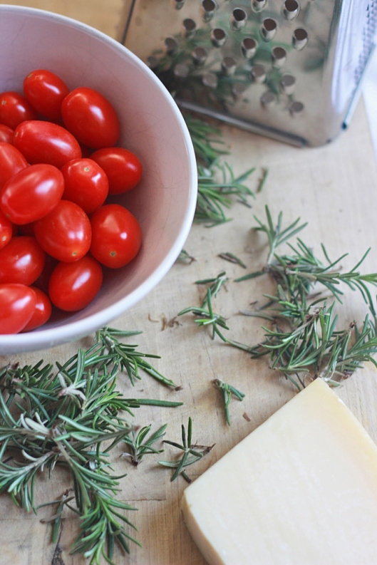 Cherry Tomatoes and Rosemary