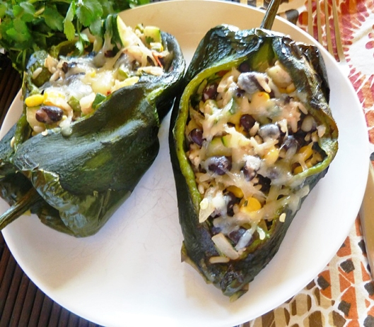 Vegetarian Chile Rellenos