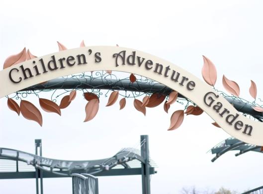 Entrance to the Children's Adventure Garden