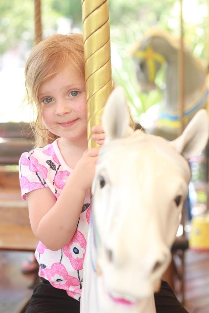Fort Worth Zoo Pony Ride