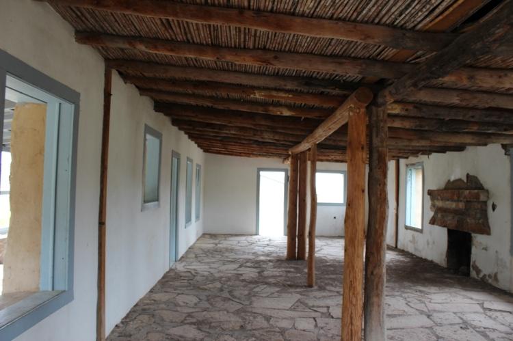 Homer Wilson Ranch house interior