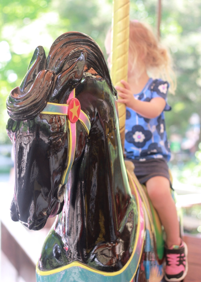 Kaya on a Painted Pony Fort Worth Zoo