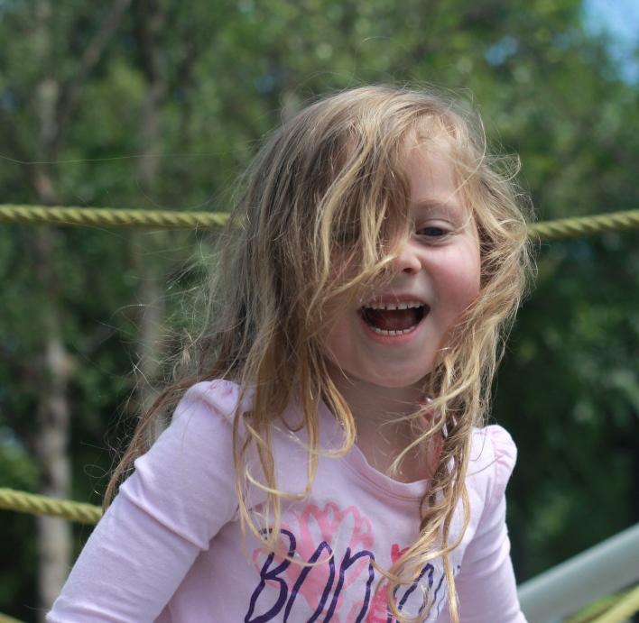 Klyde Warren Childrens park climbing