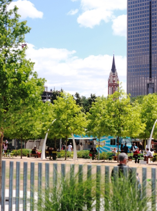 Klyde Warren Park View