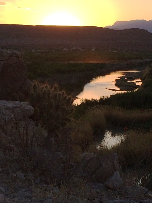 One last Sunset at Big Bend