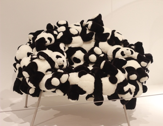 Panda Bear Chair