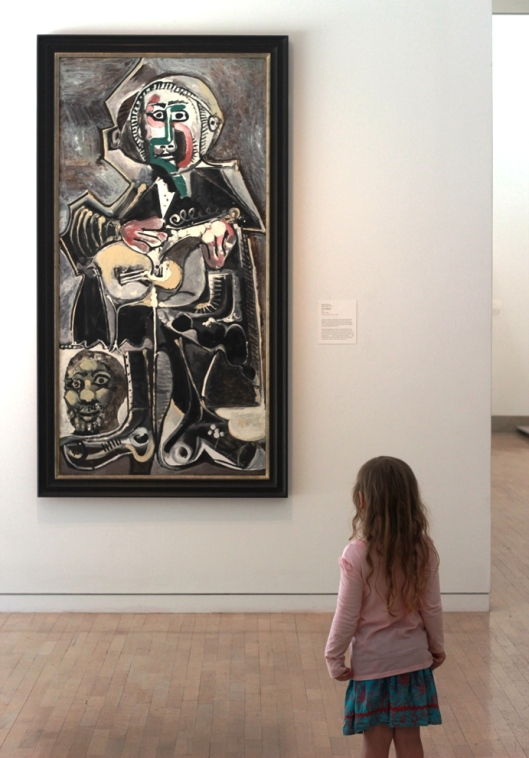 Picasso's The Guitarist