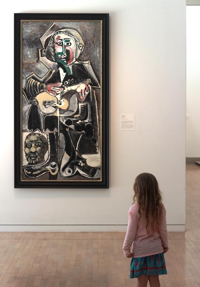 Picasso's The Guitarist