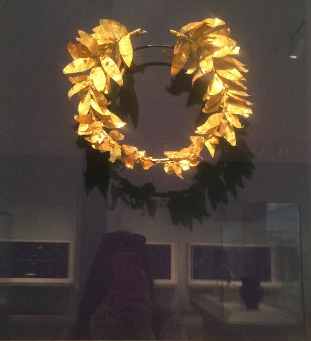 Roman Head Wreath-5 Century B.C.