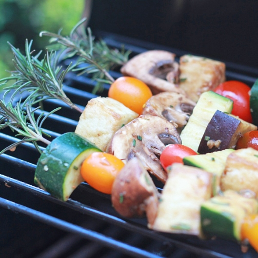 Rosemary Skewers Square