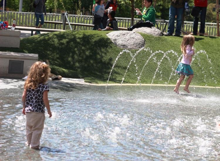 Splash Klyde Warren Park