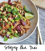 Vegan Pad Thai Square script
