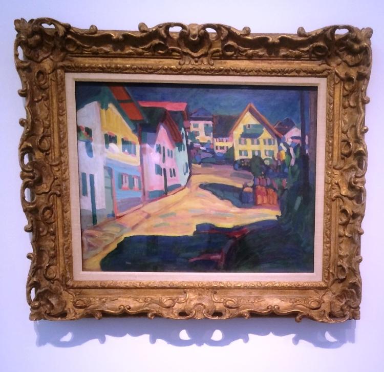 Wassily Kandunsky, Murnau, Burggrabenstrasse 1 1908