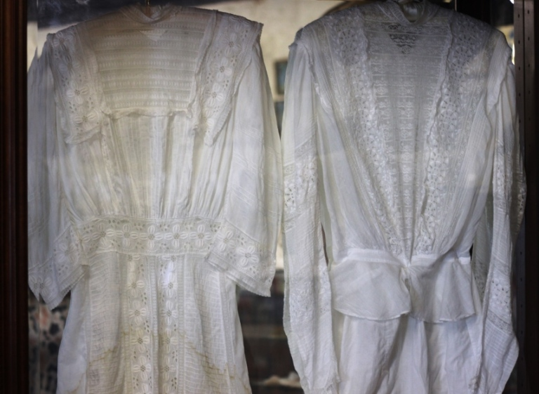 Wedding Dresses at Medicine Mound Museum