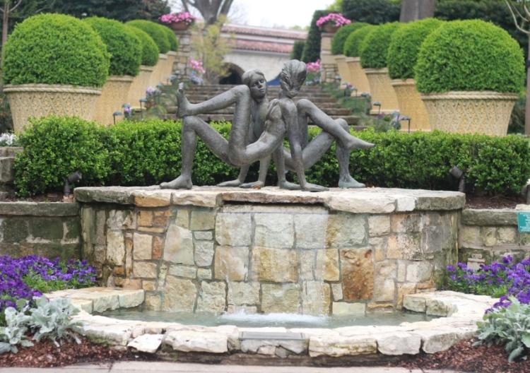 Yoga Statues
