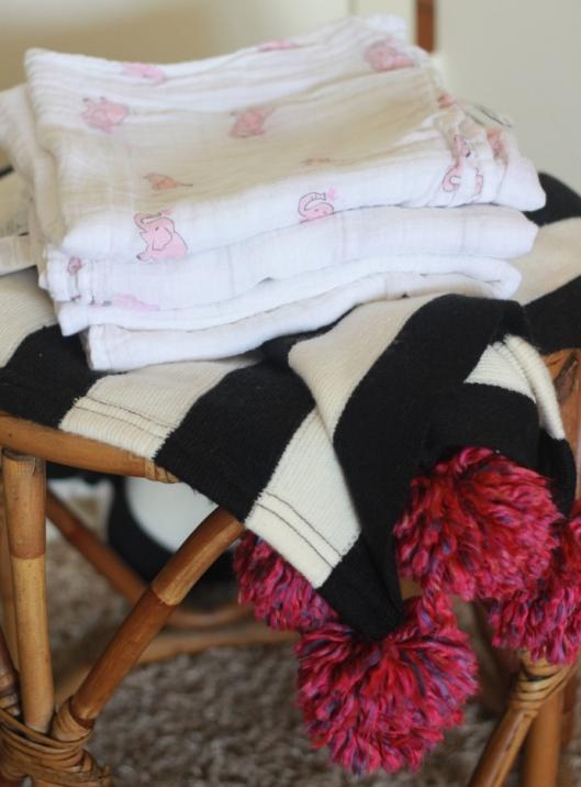Linen Swaddle Blankets