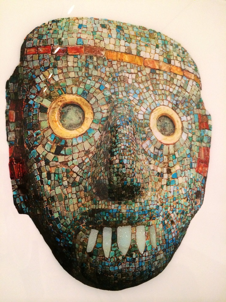 Nathan Mabry mosaic mask iced out 2013