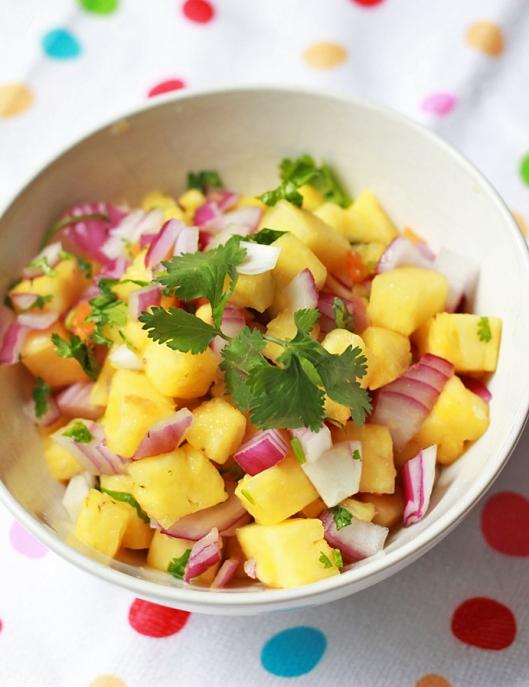 Pineapple Habenero Salsa