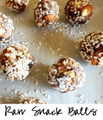 Raw Snack Balls sq