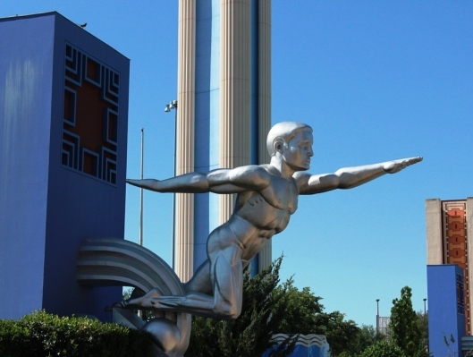 Statue at Fair Park Dallas
