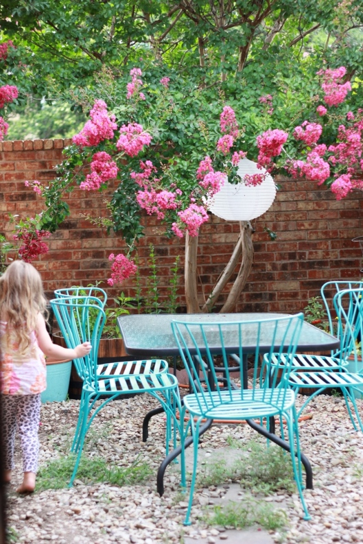 Our Courtyard Dining Area