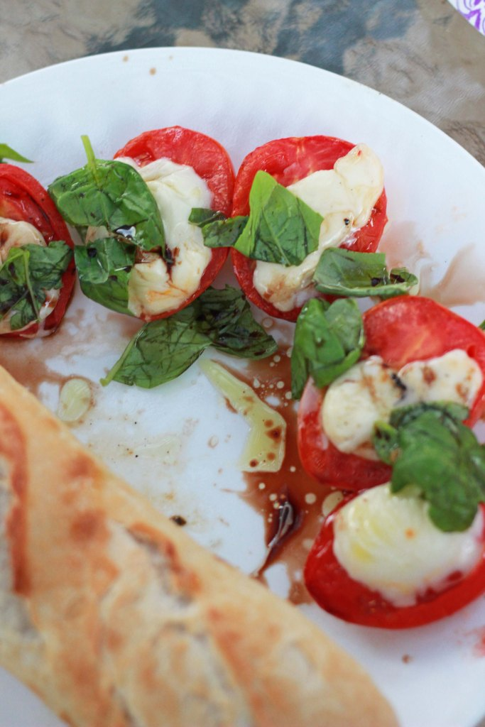 Easy Peasy Grilled Caprese
